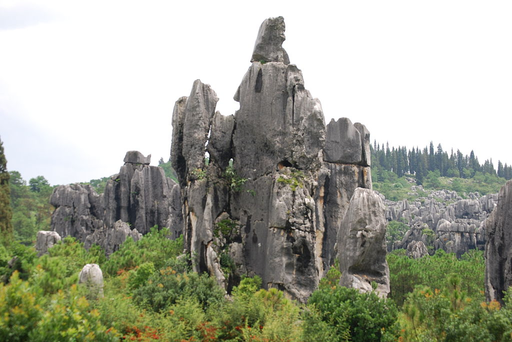 The Stone Forest (Shilin) in China