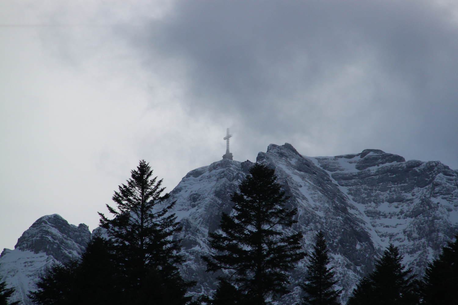 Heroes' Cross on the Caraiman Peak, Romania is World's largest Cross at High Altitude