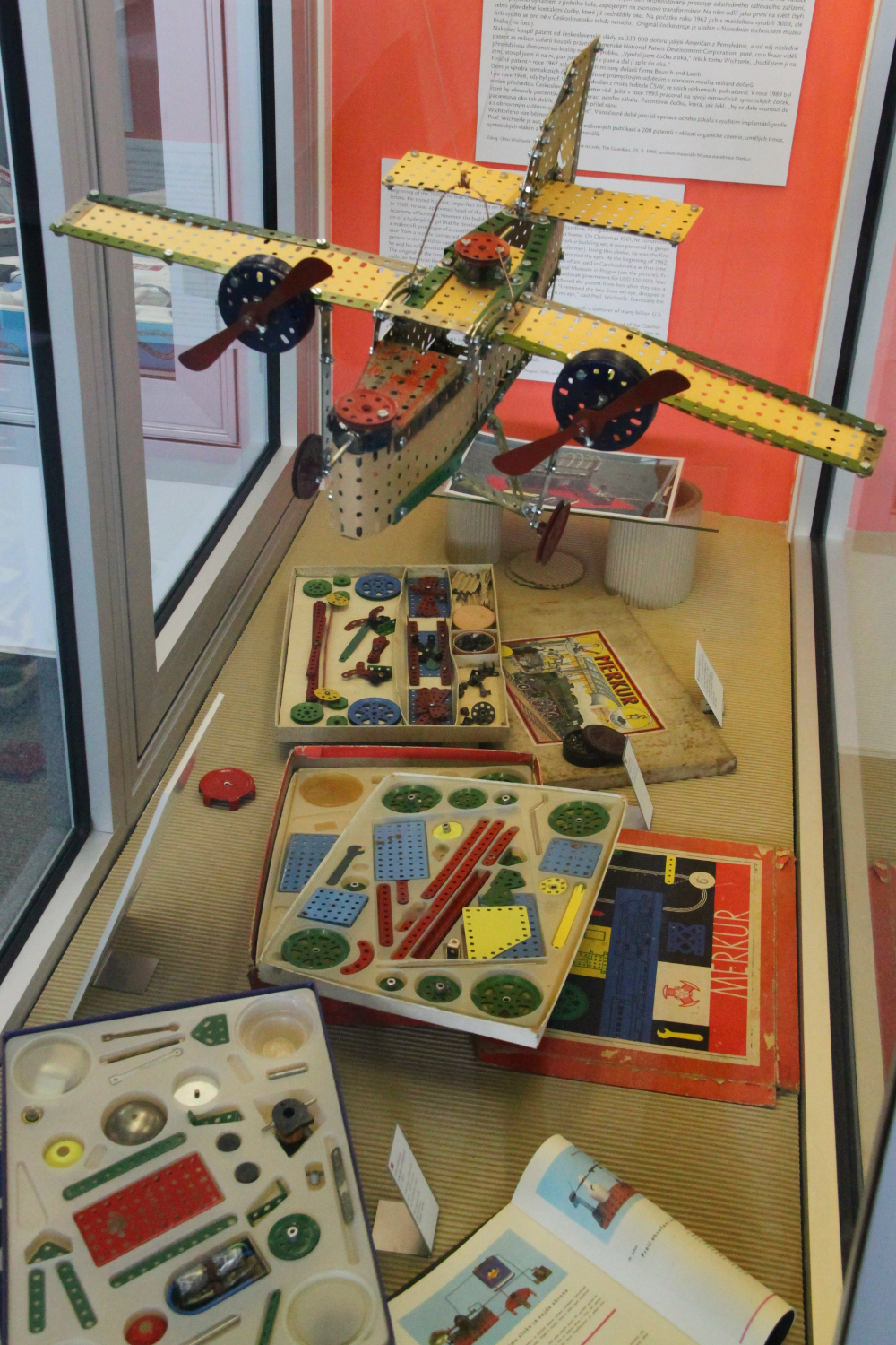 Toys at the Technical Museum in Brno
