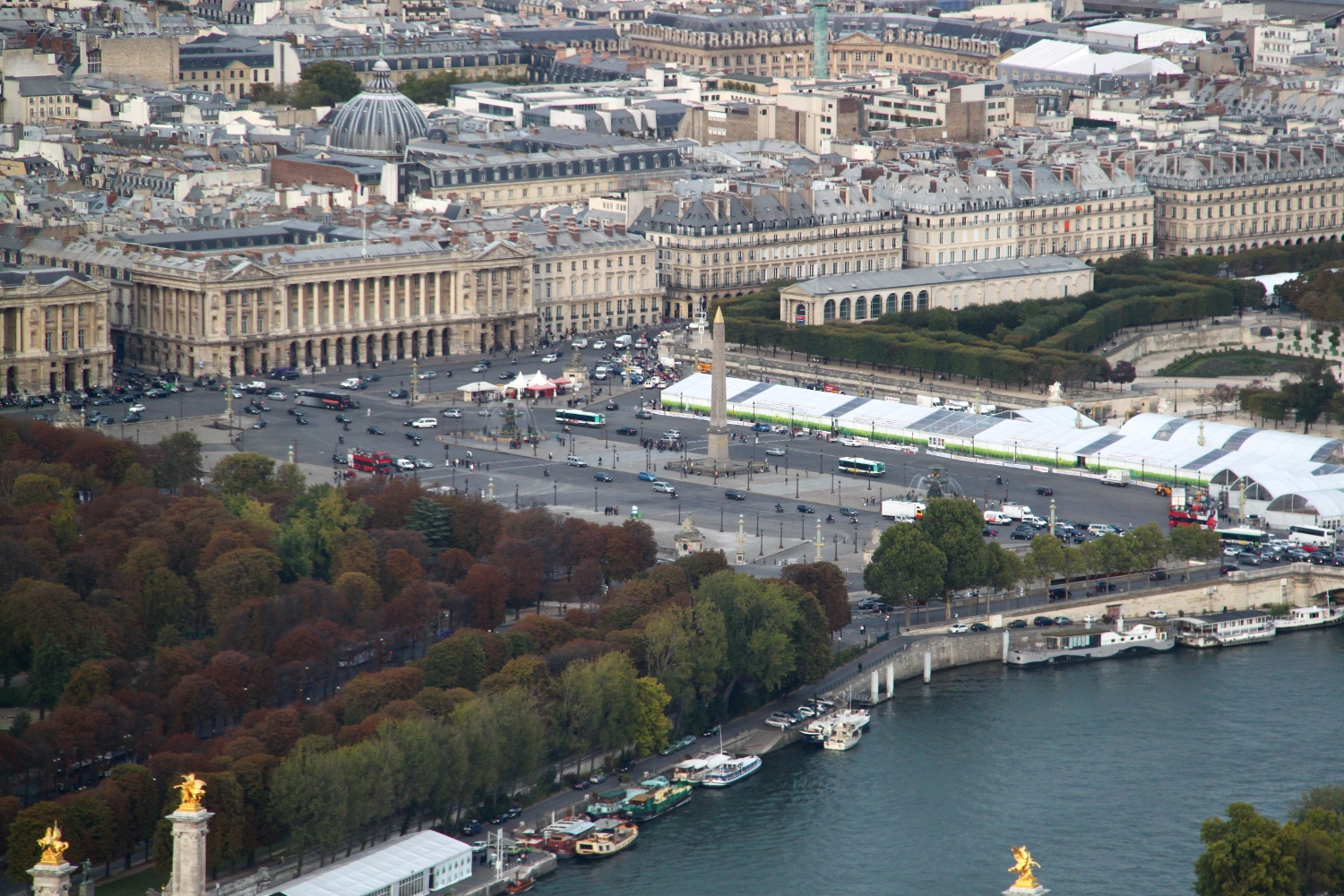 Obelisc from the Eiffel Tower