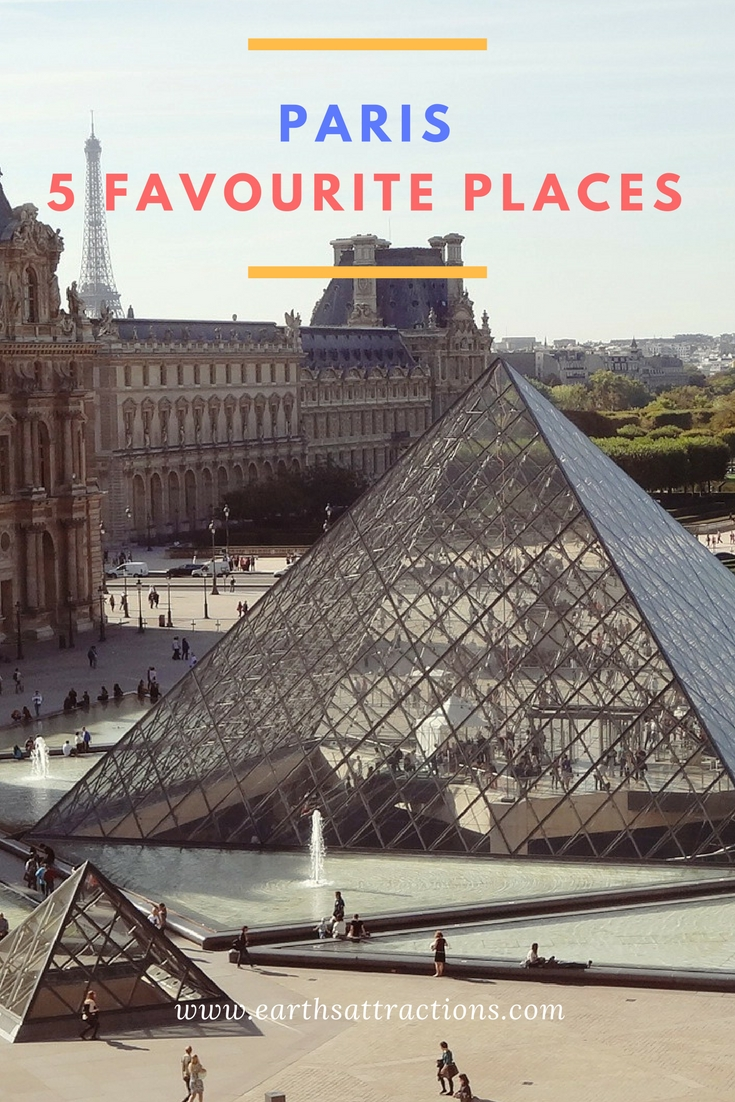 My 5 favourite places in Paris, France; #Paris #attractions; what to see in Paris, Paris guide