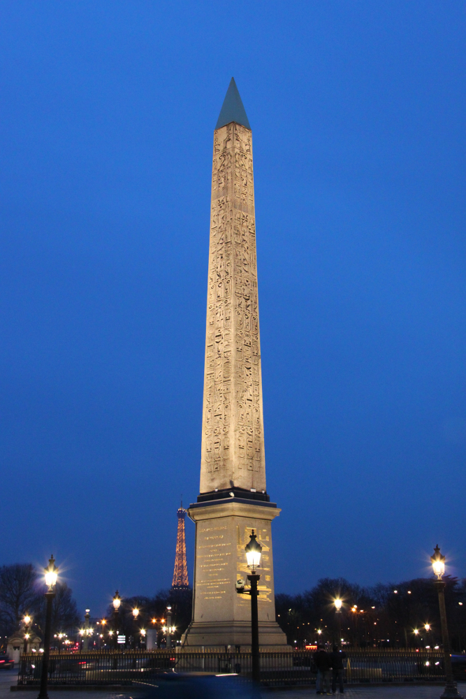 The Luxor Obelisk, Paris