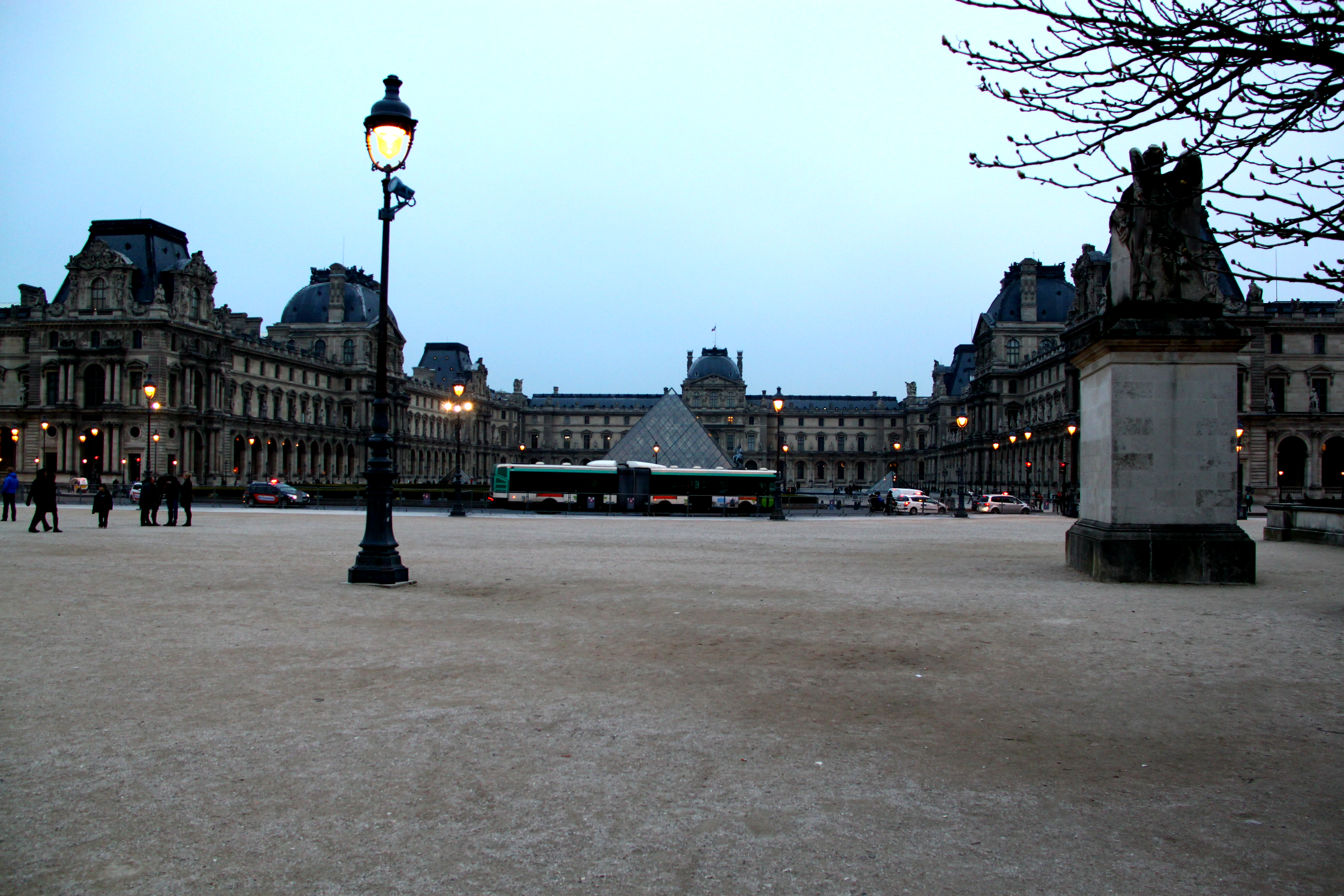 Photo of the Louvre Museum