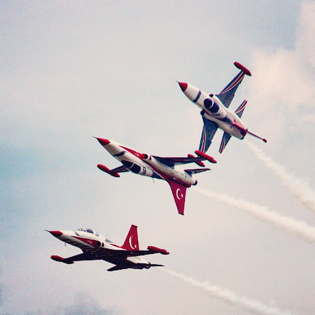 Turkish Stars - Bucharest International Air Show 2015 #BIAS2015 - detail