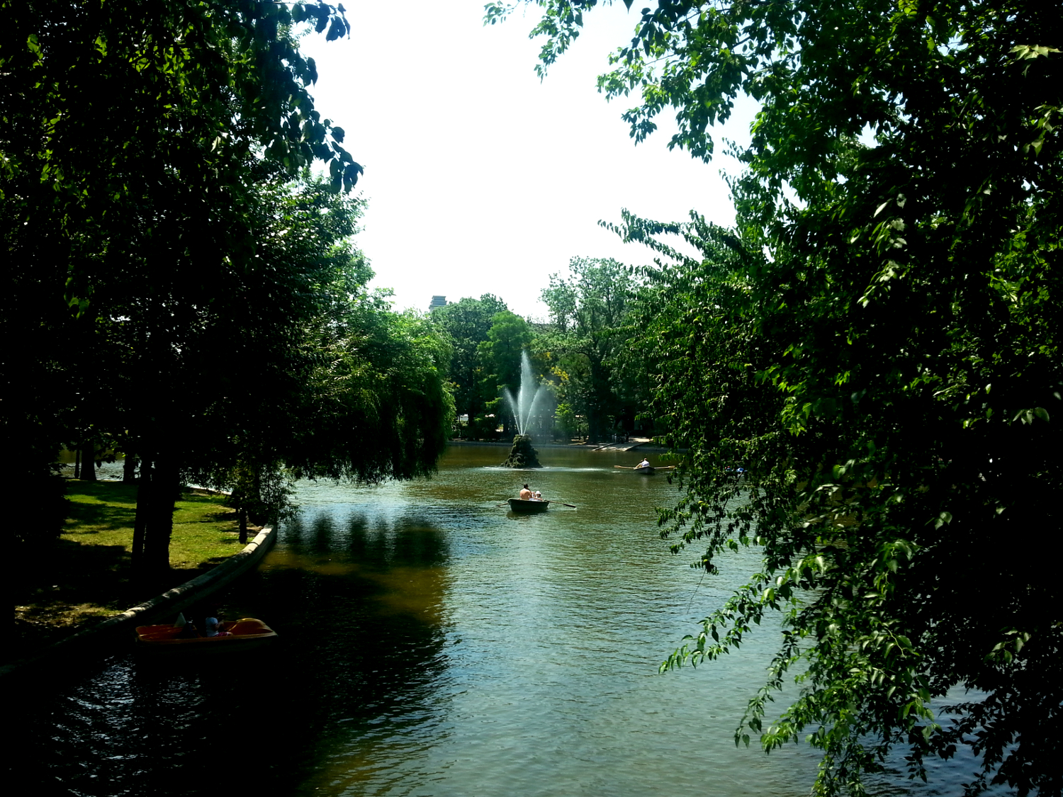 The Cismigiu Gardens in Bucharest