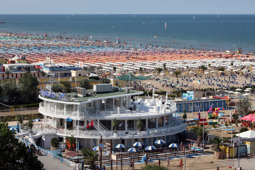 A vacation in Rimini, Italy