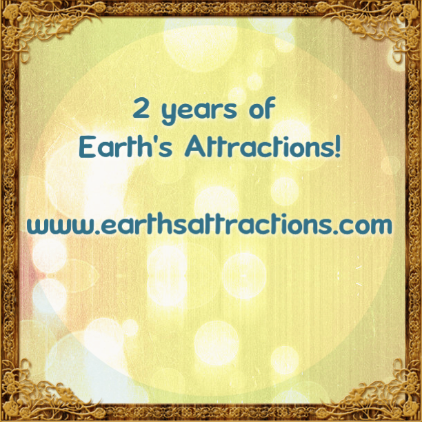 2 years of Earth's attractions - //www.earthsattractions.com