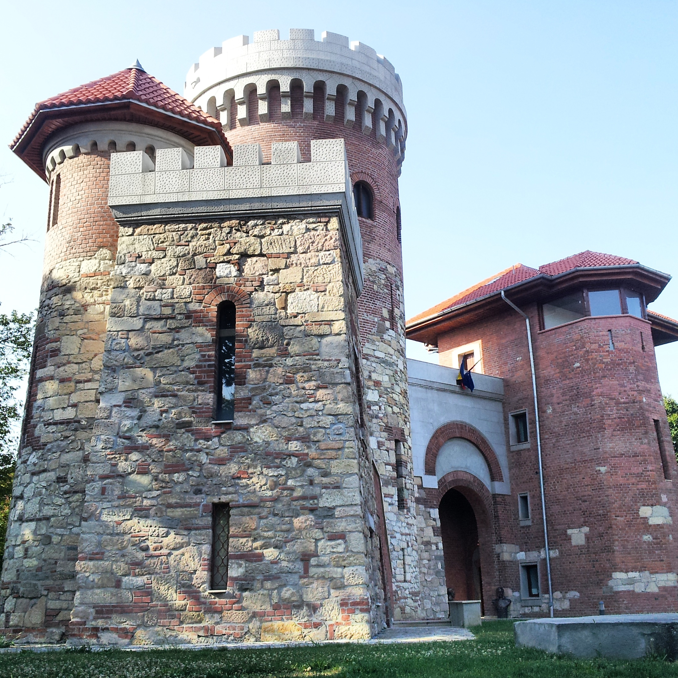 Vlad Tepes castle in Bucharest
