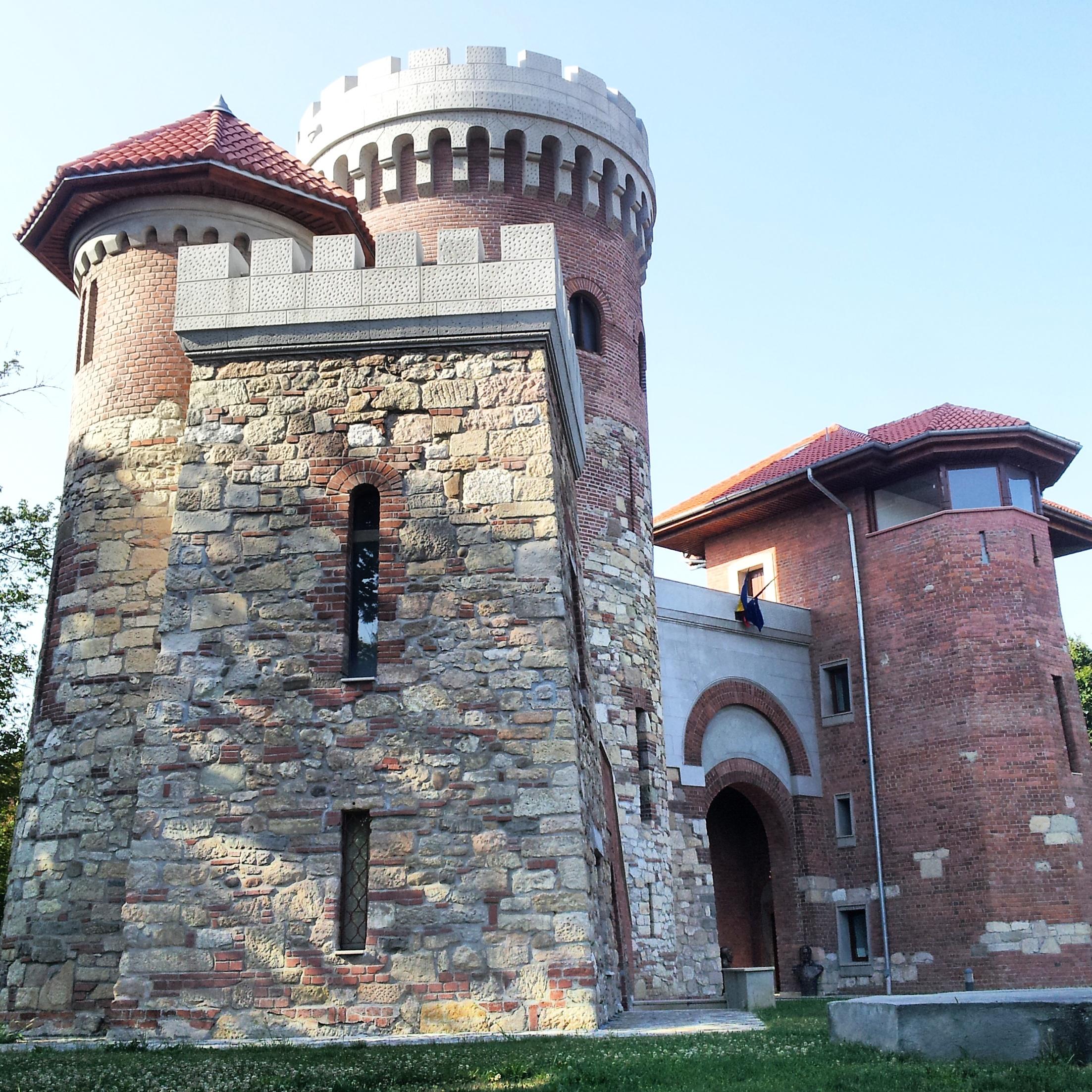 Vlad Tepes castle in Bucharest