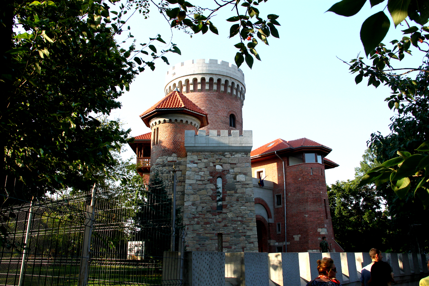 Vlad Tepes (Vlad the Impaler) castle in Bucharest