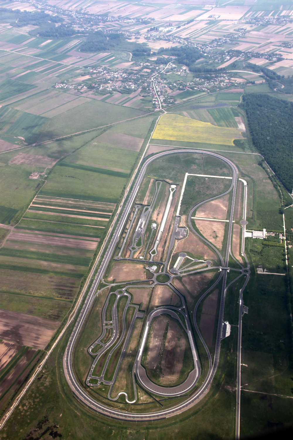 Race track in Titu, Romania