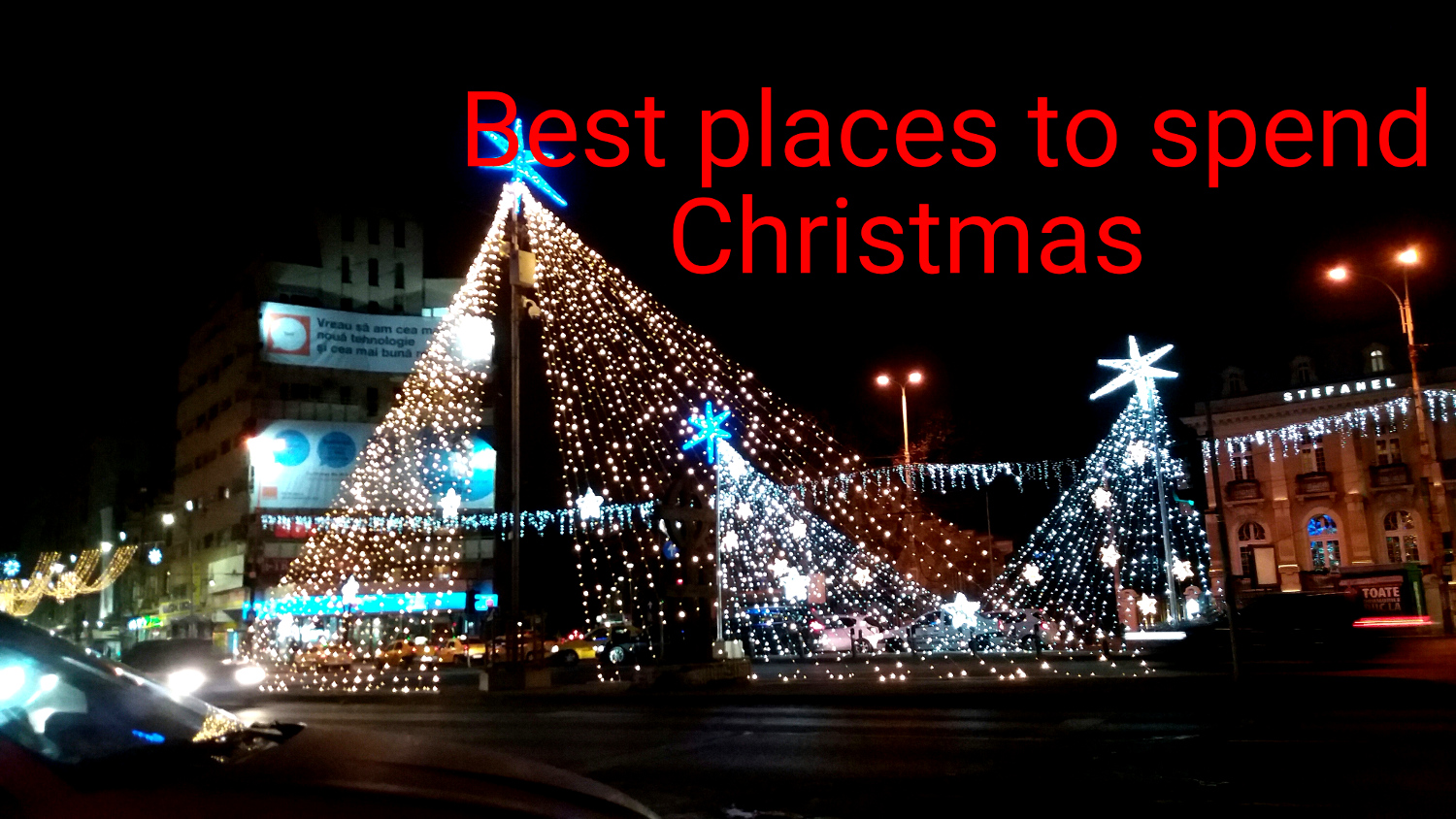 Best places to spend #Christmas #travel //www.earthsattractions.com/best-christmas-destinations/