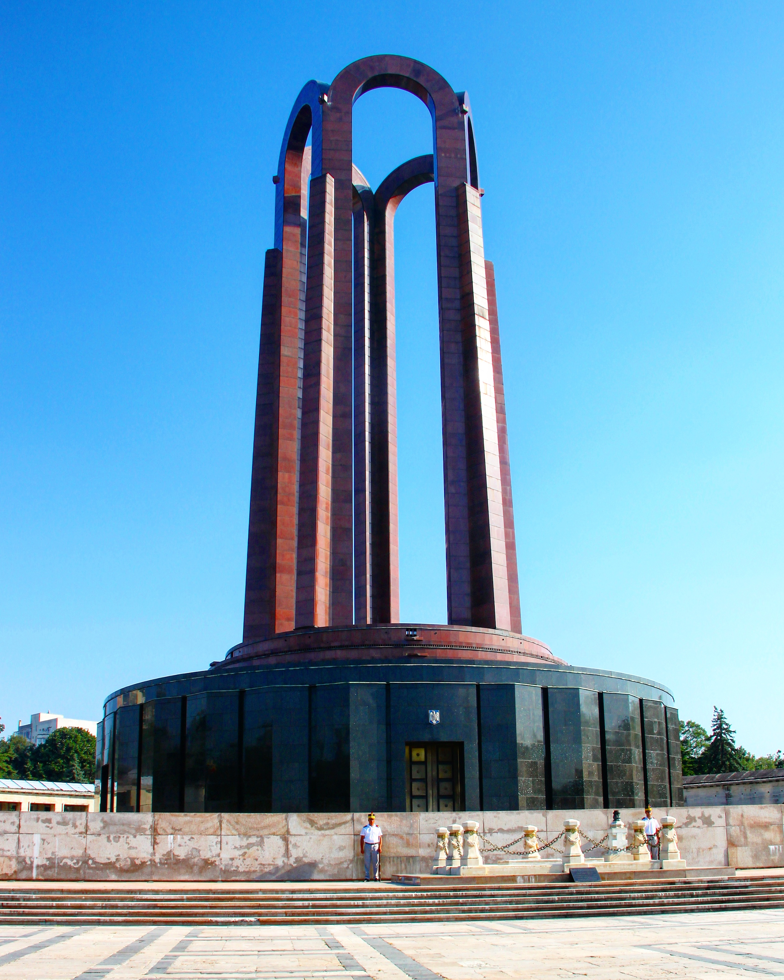 The Carol Park Mausoleum in Bucharest