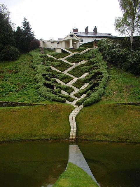 The Universe Cascade, The #Garden of Cosmic Speculation, a wonder of #Scotland near Dumfries