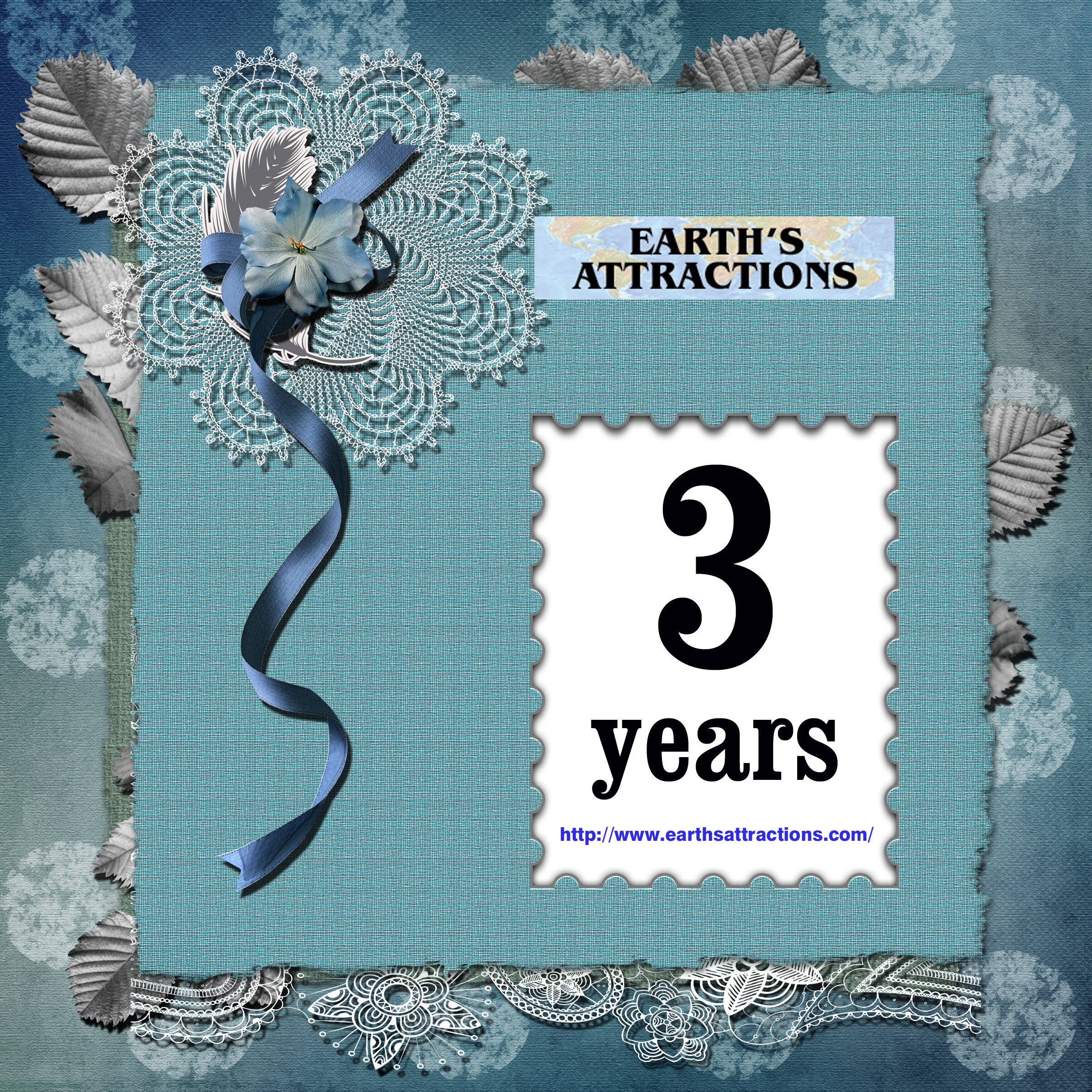 3 years of Earth's Attractions!