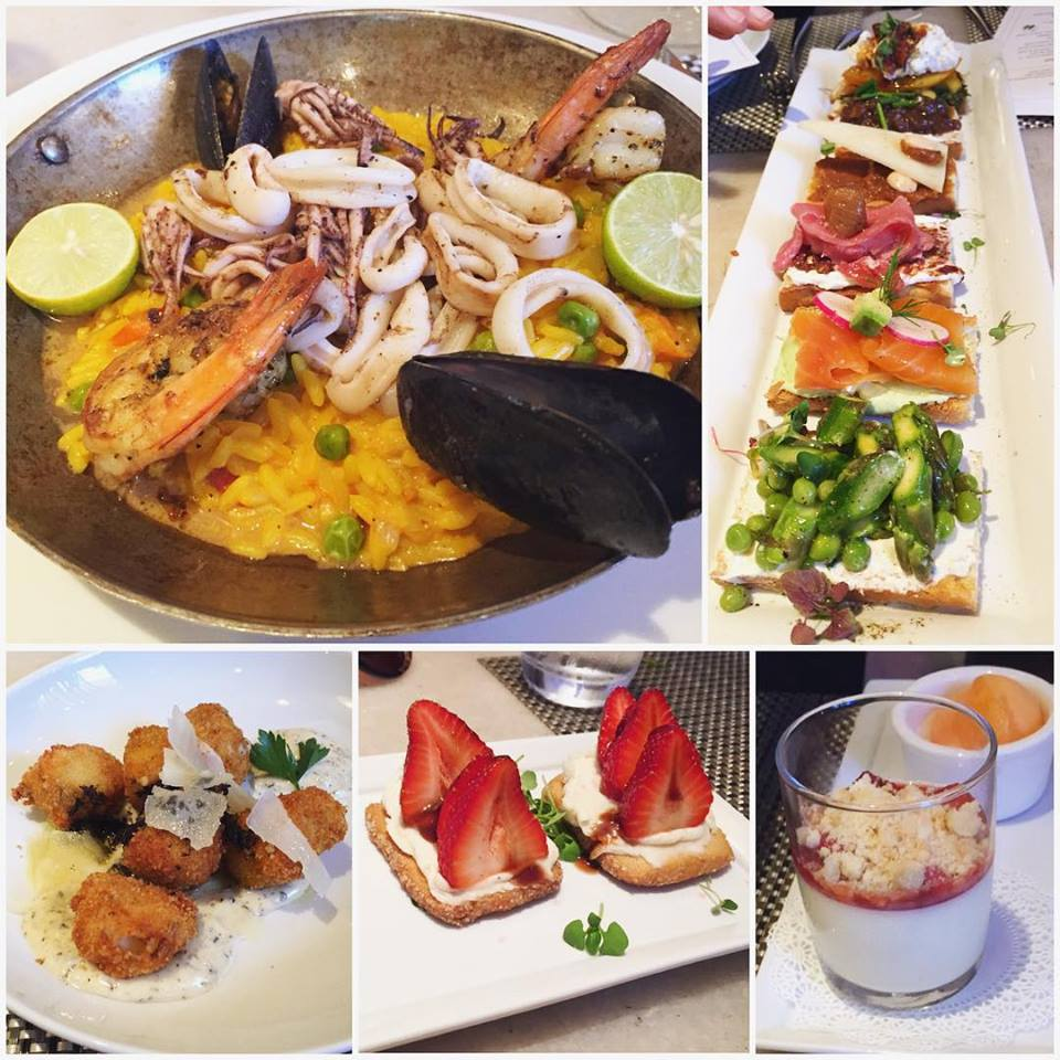 Fig & Olive - Where to eat in Los Angeles #travel #SUA #LA #guide #LosAngeles #food #eat