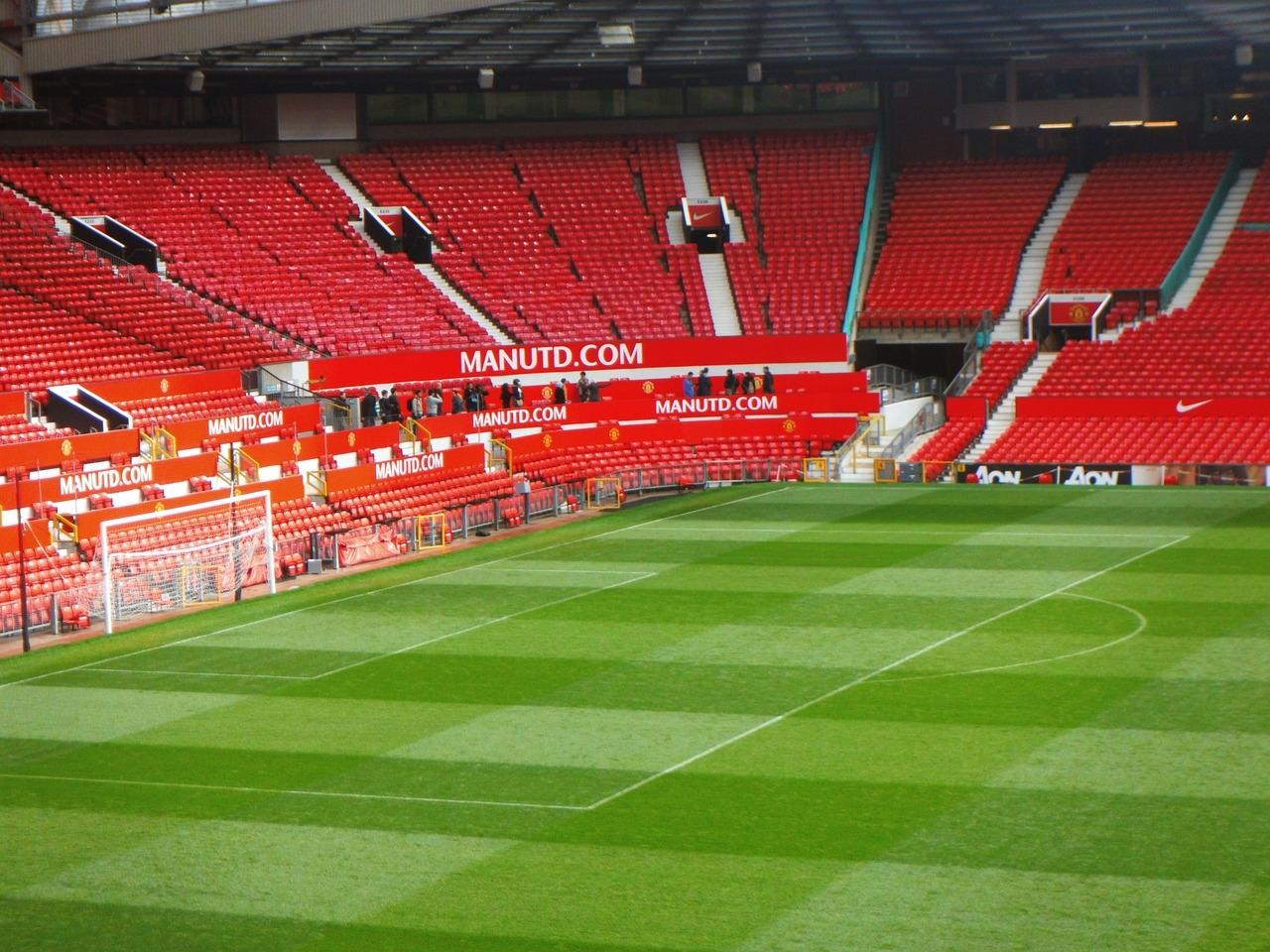 Old Trafford #stadium #footbal #Manchester Cathedral, #travel #Europe #UK #England