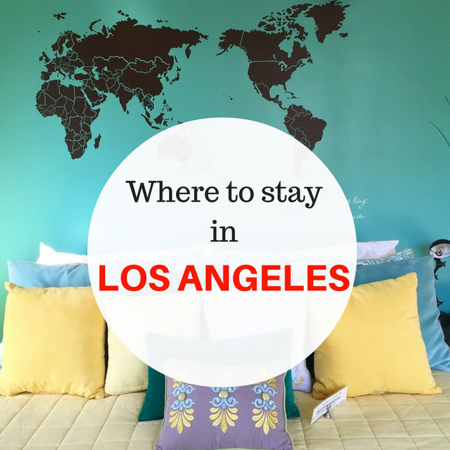 Where to stay in Los Angeles #travel #SUA #LA #guide #LosAngeles #food #eat