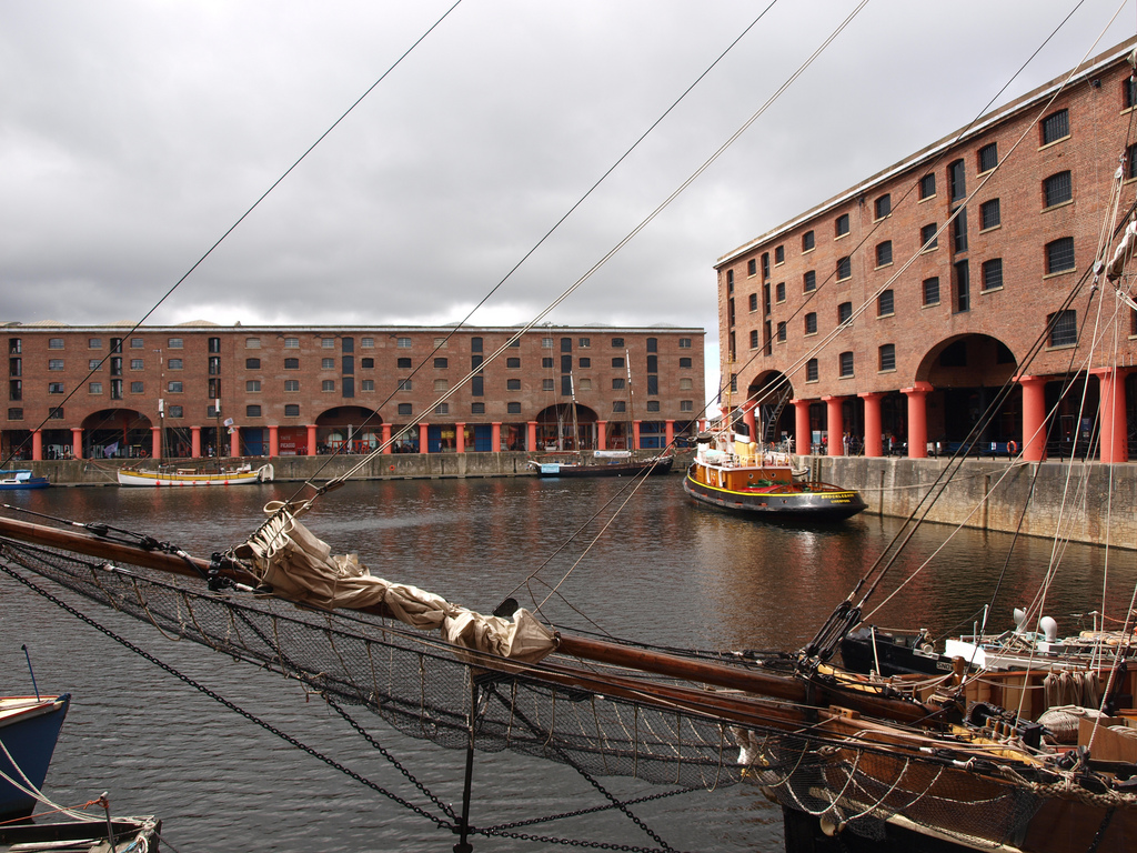 Albert Dock - A Walking Tour of #Liverpool's #UNESCO World Heritage Sites #travel #UK
