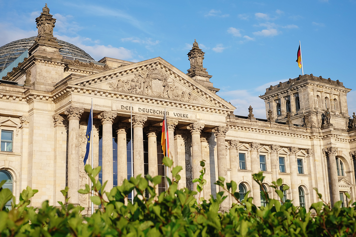 The Reichstag, Berlin, Germany