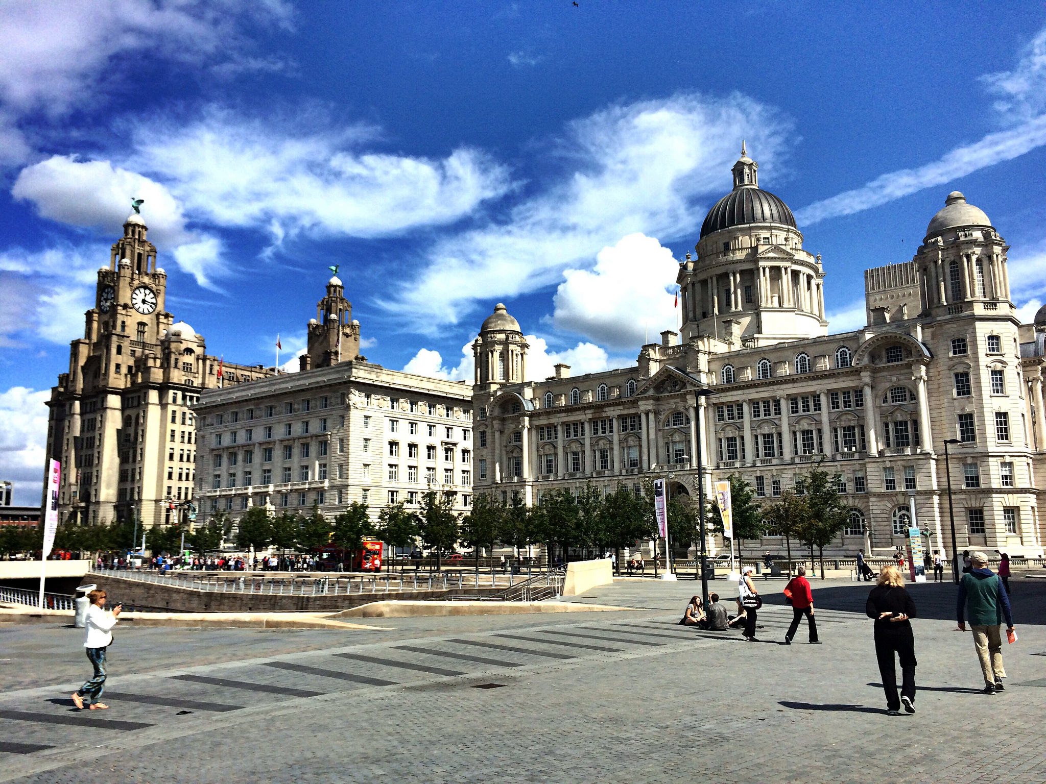 Three Graces - A Walking Tour of #Liverpool's #UNESCO World Heritage Sites #travel #UK