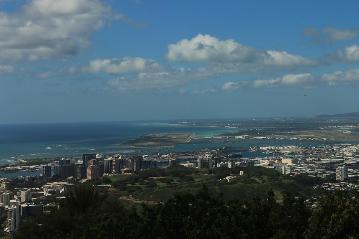 View from the Mount Tantalus (Round-top)