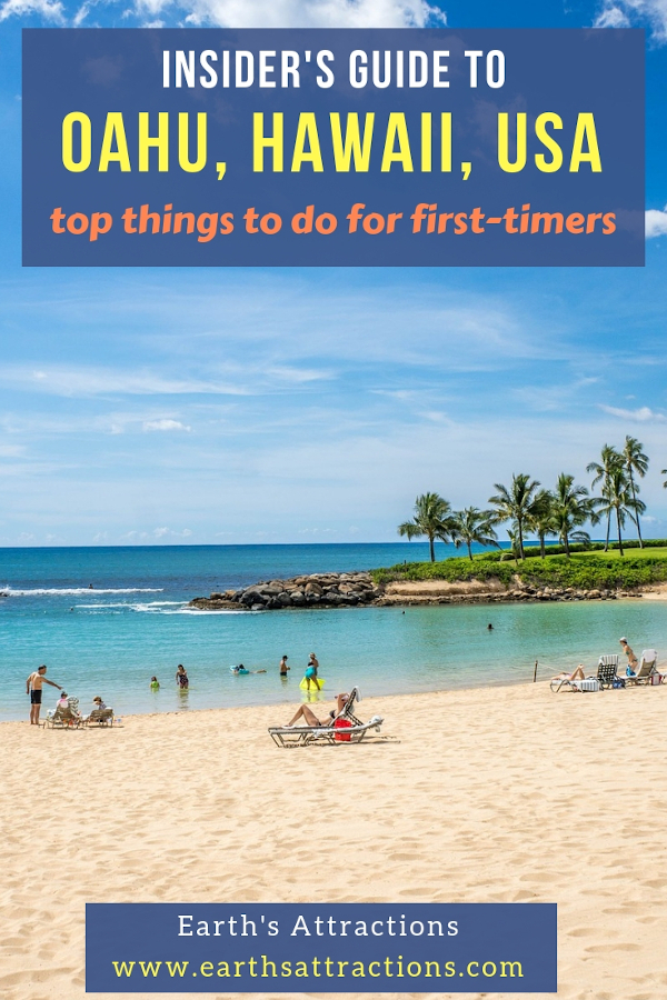 Insider's guide to Oahu, Hawaii, USA with the best things to do in Oahu, HI. #oahu #hawaii #usa #travel
