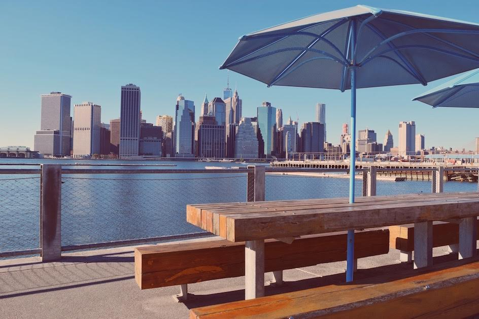 Brooklyn Bridge Park, a landmark of Brooklyn. Read this Brooklyn travel guide and discover the top things to do in Brooklyn, where to eat in Brooklyn, and Brooklyn tips from an insider. #Brooklyn #brooklyn guide #brooklyntips #brooklynny #brooklyntravel