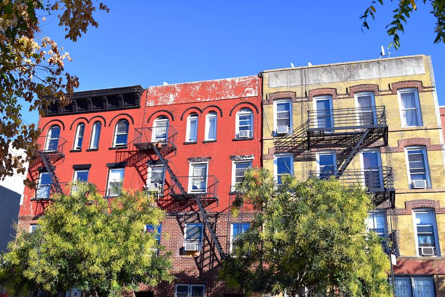 A street in Brooklyn - part of the local's guide to Brooklyn, NY with the best things to see in Brooklyn, tips for Brooklyn, and food in Brooklyn. #Brooklyn #brooklyn guide #brooklyntips #brooklynny #brooklyntravel
