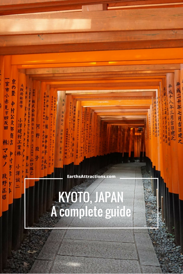 A complete guide to #Kyoto, #Japan - famous and off the beaten path attractions, where to eat, tips