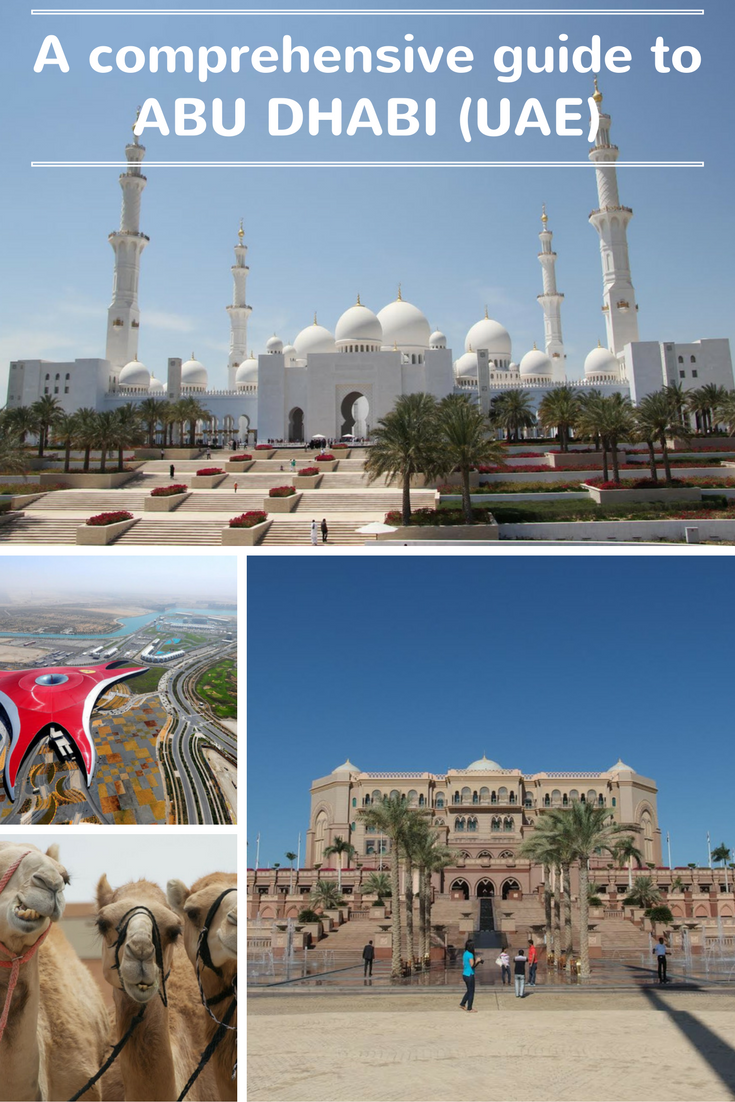 A comprehensive guide to Abu Dhabi written by someone who lives there!
