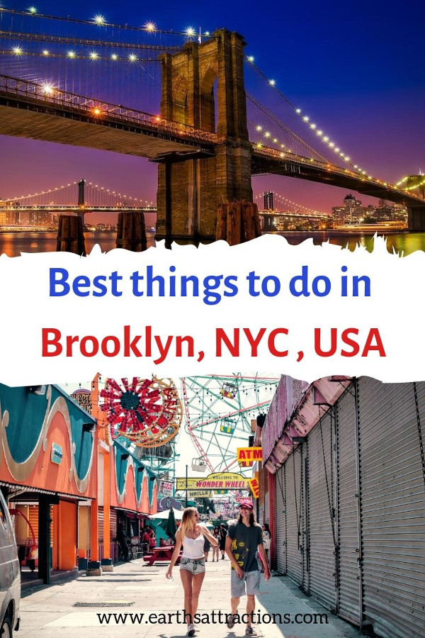 The best things to do in Brooklyn, NYC, USA. These are absolutely amazing Brooklyn activities to include on your Brooklyn bucket list. #brooklyn #nyc #usa