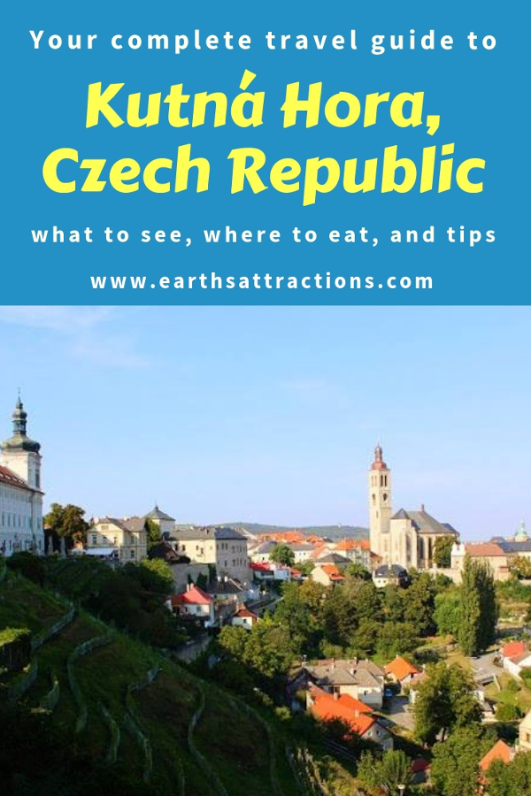 Planning to visit Kutná Hora, Czech Republic? Use this local's guide to Kutna Hora in Europe - a day trip from Prague or Brno - and discover what to do in Kutna Hora, where to eat in Kutna Hora, and useful Kurna Hora tips. All the Kutna Hora tourist attractions (including the Bone Church - Sedlec Ossuary) and off the beaten path things to do in Kutna Hora are included. Save this pin to your boards #kutnahora #kutnahoraguide #kutnahoratravelguide #travel #czechrepublic #europe ##kutnahorayguide #kutnahoratips #kutnahoraattractions