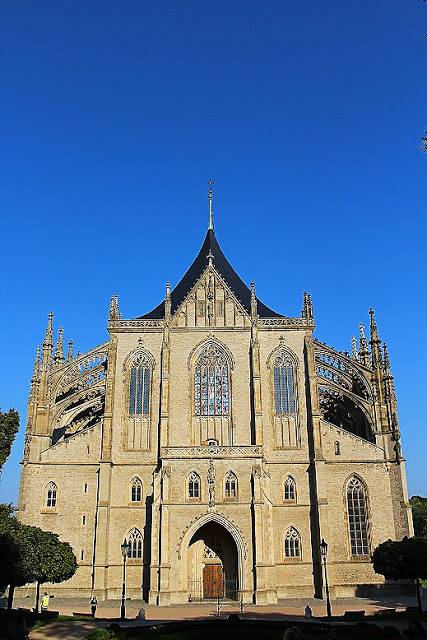 The Church of St. Barbara - a guide to Kutná Hora, Czech Republic
