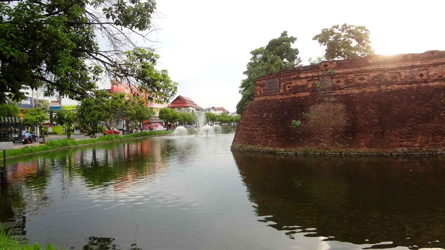 Chiang Mai City Moat - A Traveler's Guide to Chiang Mai #travel #Thailand