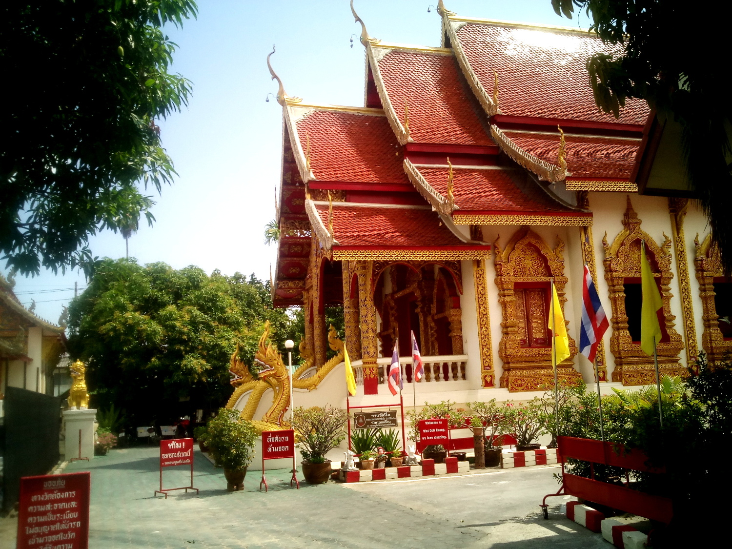 One of the many Wats in Chiang Mai - A Traveler's Guide to Chiang Mai #travel #Thailand