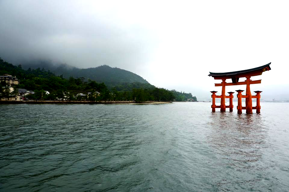 The Great Torii at high tide - A complete travel guide to Hiroshima, Japan