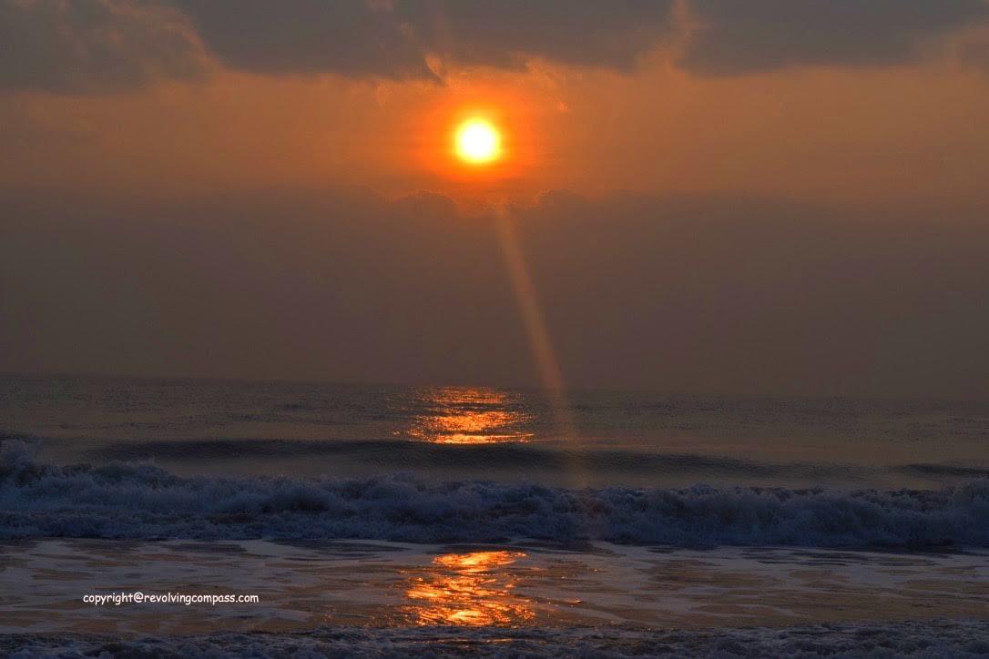beach - sunrise - Mahabalipuram, Tamil Nadu, India