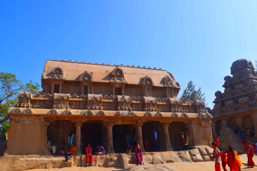 Bheems Ratha-min - Mahabalipuram, Tamil Nadu, India