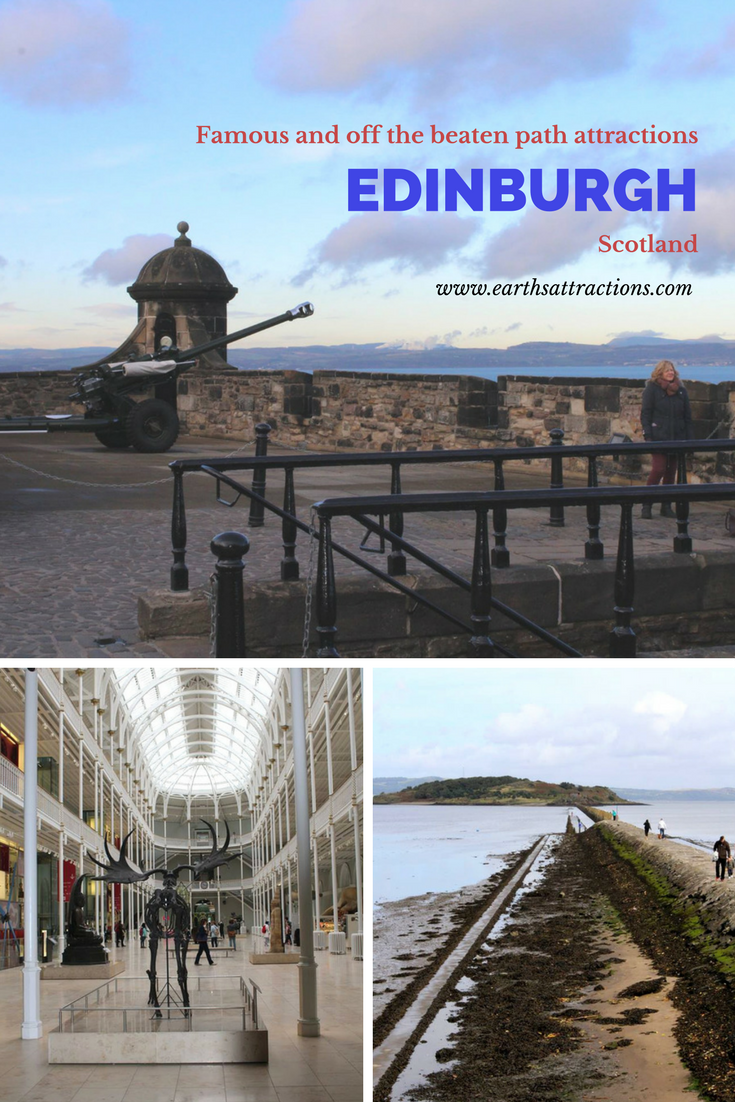 Famous and off the beaten path attractions in Edinburgh, Scotland - your Edinburgh bucket list. #edinburgh #scotland #europe
