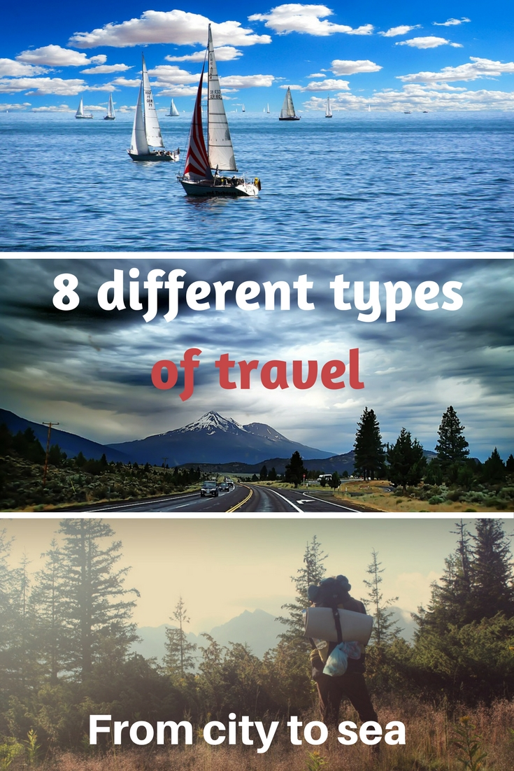 8 different types of travel for different people