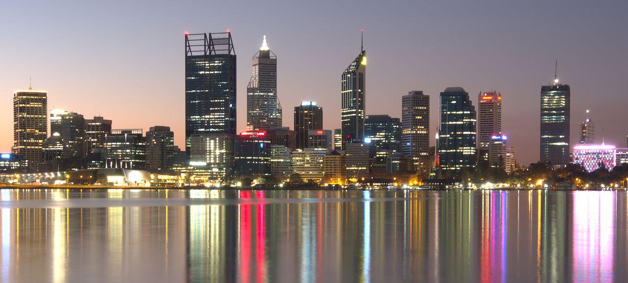 Perth skyline - wikimedia