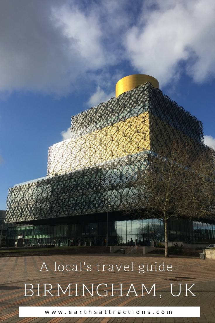 A local's travel guide to Birmingham, UK