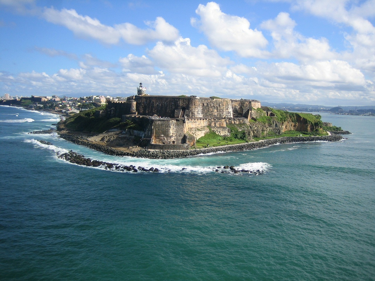 View of Puerto Rico