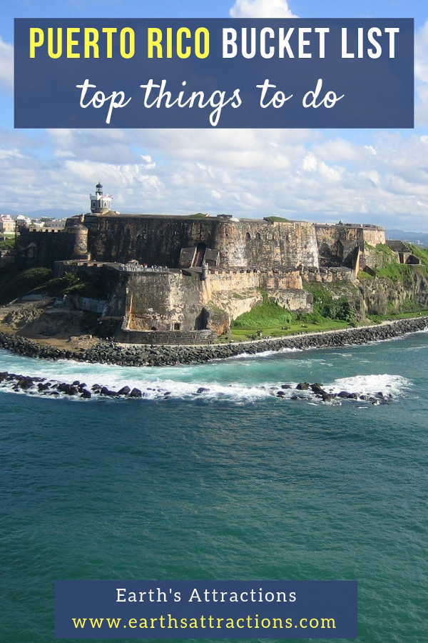 Planning your Puerto Rico vacation and wondering what to do in Puerto Rico? Here is your Puerto Rico bucket list with the best things to do in Puerto Rico. Try all these Puerto Rico activities for a memorable trip! Save this pin to your boards. #puertorico #puertoricoactivities #puertoricotrip #puertoricotravel