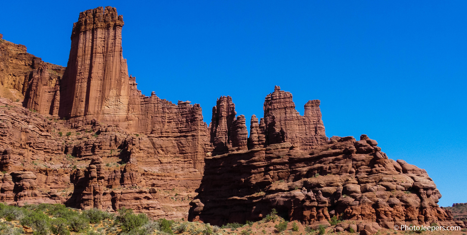 Fisher Towers Moab Utah