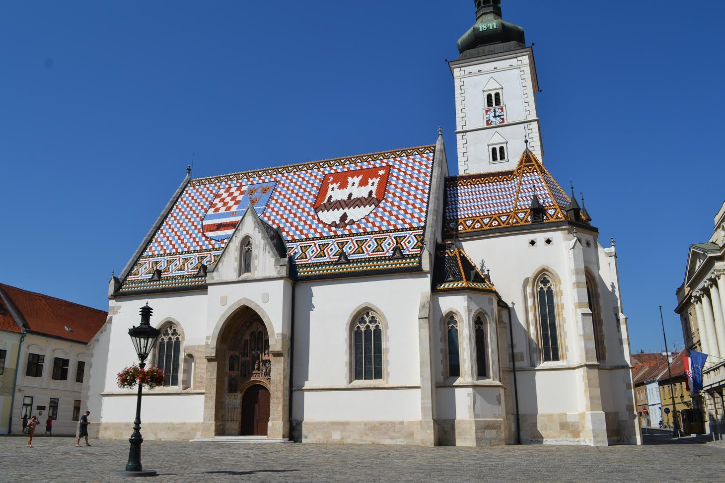 St Mark's Church - Zagreb