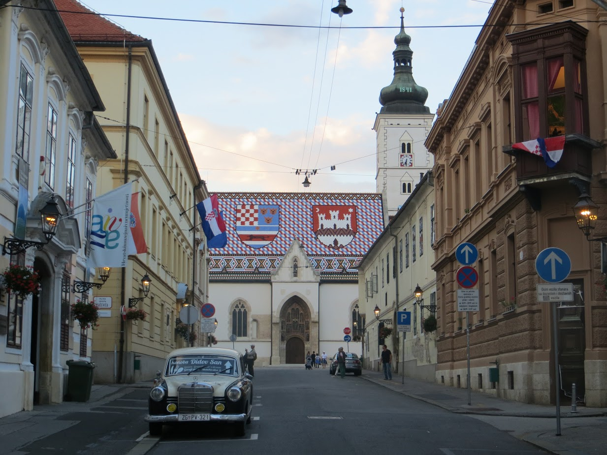 Zagreb - Upper Town with St Mark's