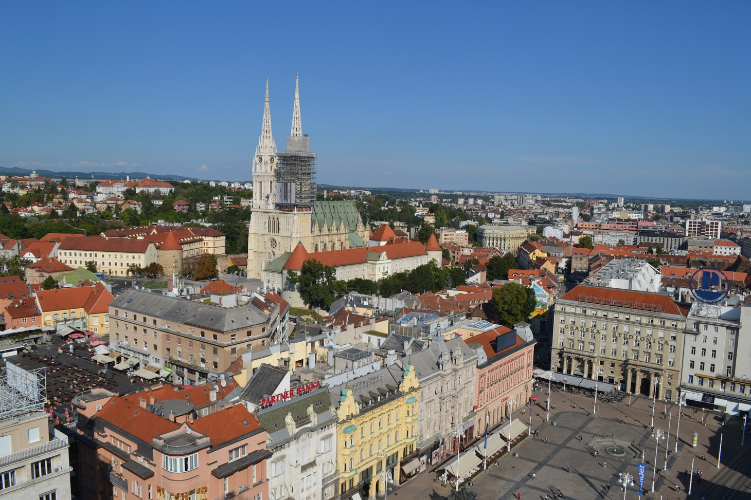 View from Zagreb Eye