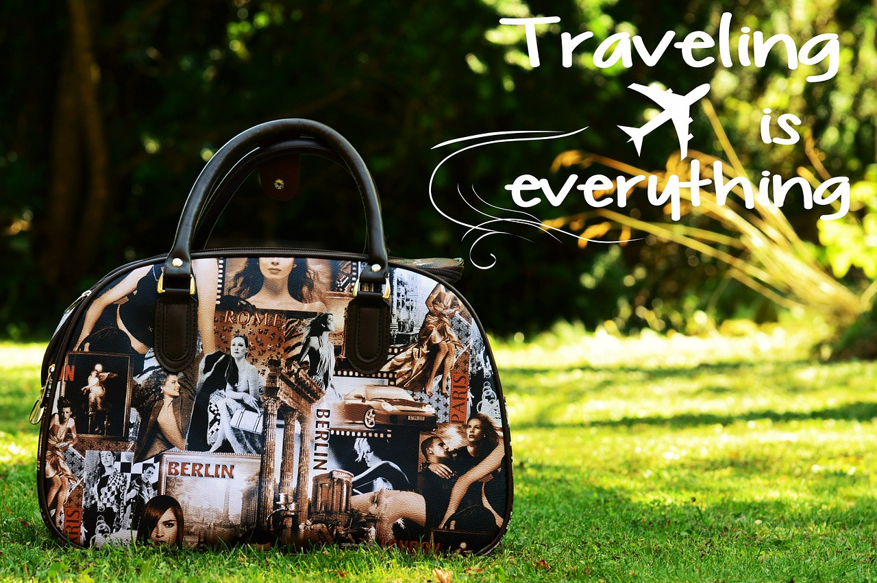 bag traveling suitcase pixabay